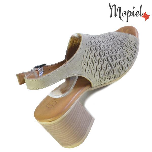 Sandale dama din piele naturala 251115 Taupe Thalia incaltaminte fashion