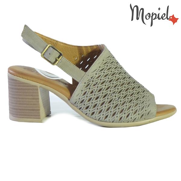 Sandale dama din piele naturala 251115 Taupe Thalia