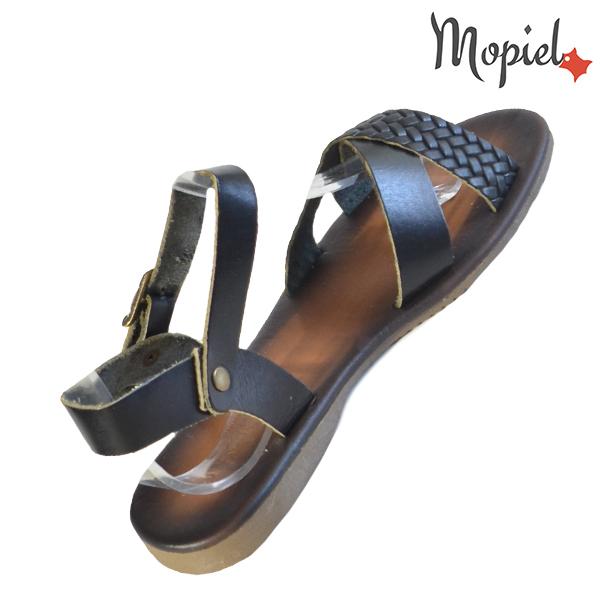 Sandale dama din piele naturala 251106 Negru Crina incaltaminte ieftina
