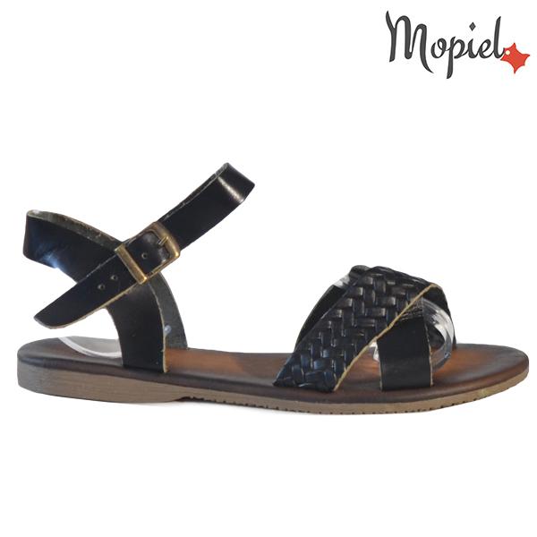 Sandale dama din piele naturala 251106 Negru Crina
