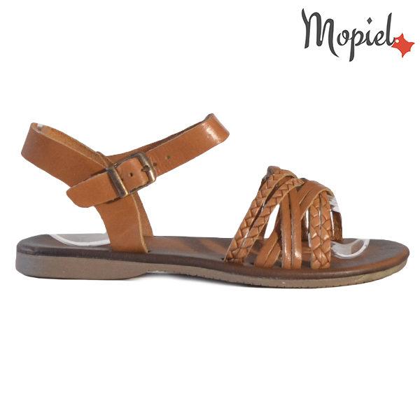 Sandale dama din piele naturala 251108 Maro Carina