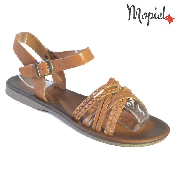 Sandale dama din piele naturala 251108 Maro Carina incaltaminte dama