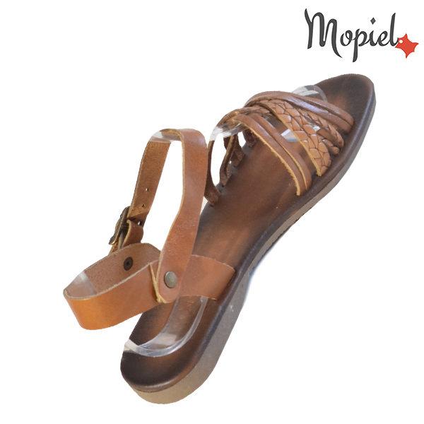 Sandale dama din piele naturala 251108 Maro Carina incaltaminte ieftina