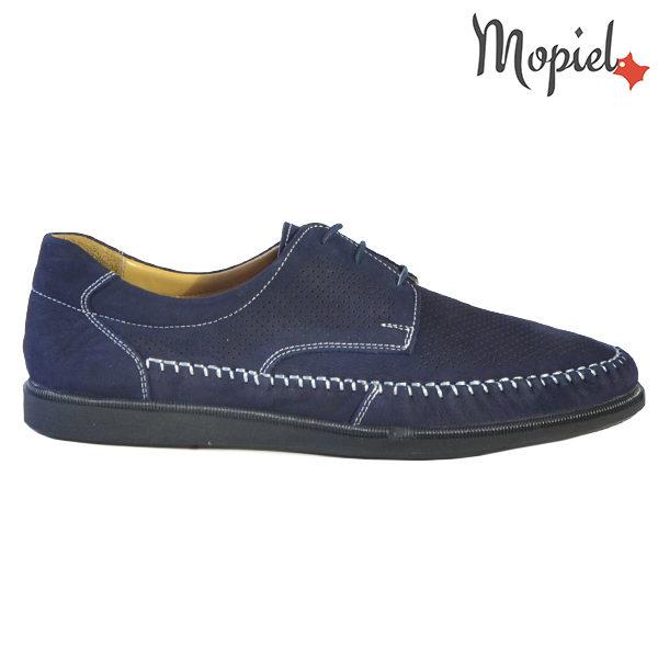 Pantofi barbati, din piele naturala 131101 Bleumarin Iustin