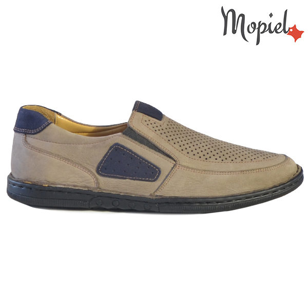 Pantofi barbati, din piele naturala 131102 Bej Alesis