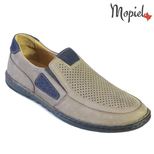 Pantofi barbati, din piele naturala 131102 Bej Alesis incaltaminte barbati