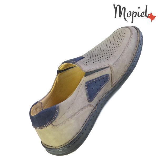 Pantofi barbati, din piele naturala 131102 Bej Alesis incaltaminte fashion
