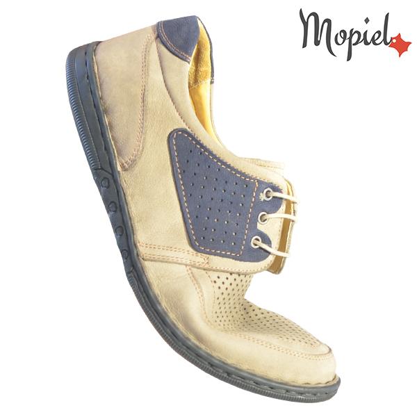 Pantofi barbati, din piele naturala 131102 Bej Alesis incaltaminte ieftina