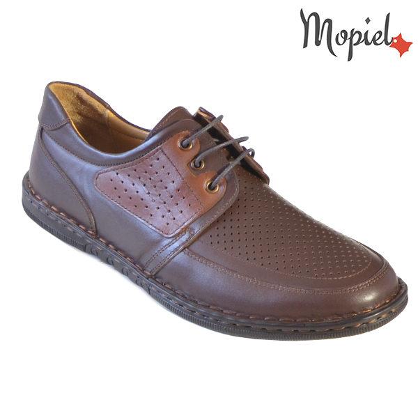 Pantofi barbati, din piele naturala 131102 Maro-Roscat Alesis incaltaminte dama