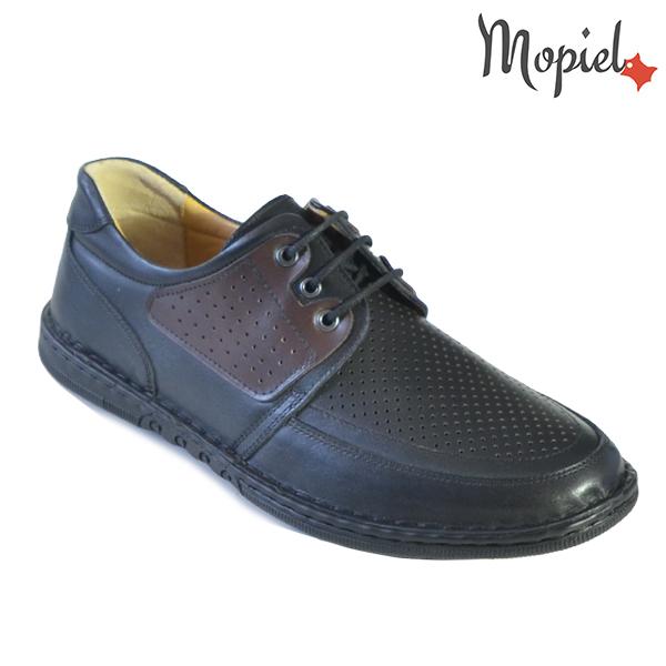 Pantofi barbati, din piele naturala 131102 Negru Alesis incaltaminte barbati