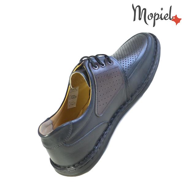 Pantofi barbati, din piele naturala 131102 Negru Alesis incaltaminte ieftina