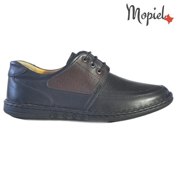 Pantofi barbati, din piele naturala 131102 Negru Alesis