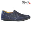 Pantofi barbati, din piele naturala 131103 Bleumarin Alvin