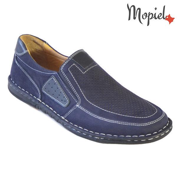 Pantofi barbati, din piele naturala 131103 Bleumarin Alvin incaltaminte barbati