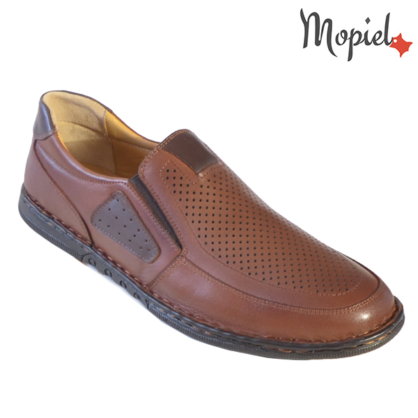 Pantofi barbati, din piele naturala 131103 Castaniu Alvin incaltaminte barbati