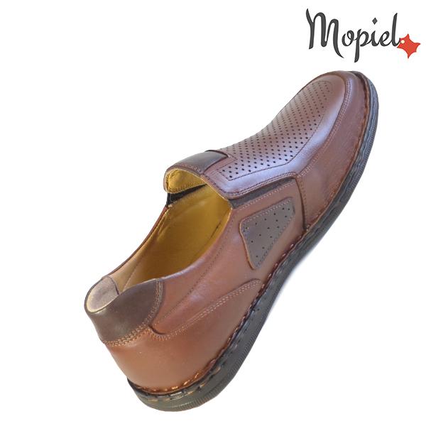 Pantofi barbati, din piele naturala 131103 Castaniu Alvin incaltaminte fashion