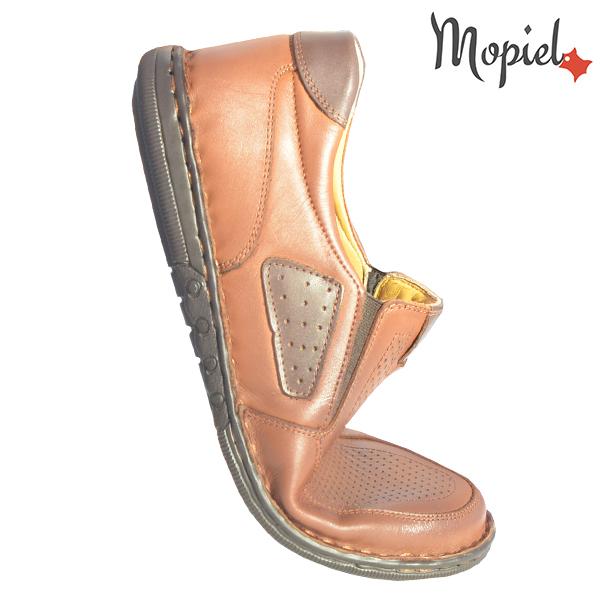 Pantofi barbati, din piele naturala 131103 Castaniu Alvin incaltaminte online