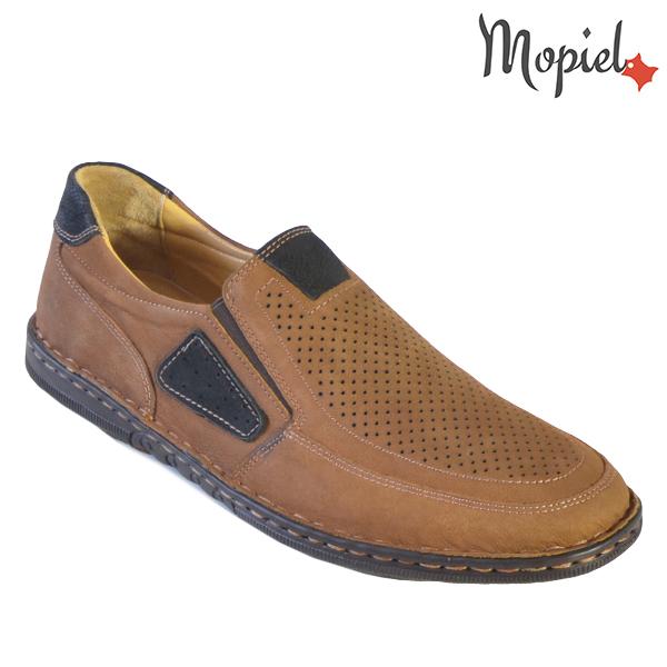 Pantofi barbati, din piele naturala 131103 Maro Alvin incaltaminte barbati