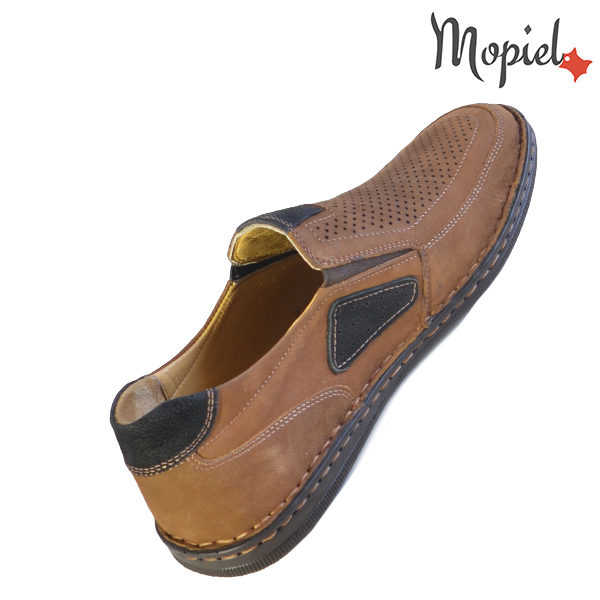 Pantofi barbati, din piele naturala 131103 Maro Alvin incaltaminte piele