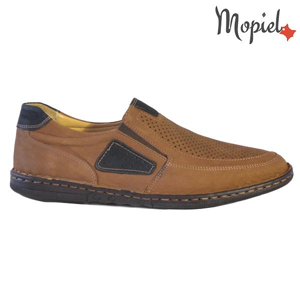 Pantofi barbati, din piele naturala 131103 Maro Alvin