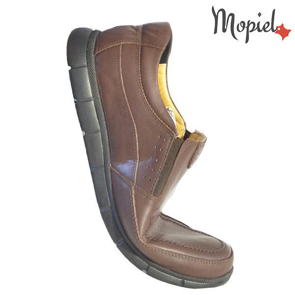 Pantofi barbati, din piele naturala 131107 Maro Antim incaltaminte online