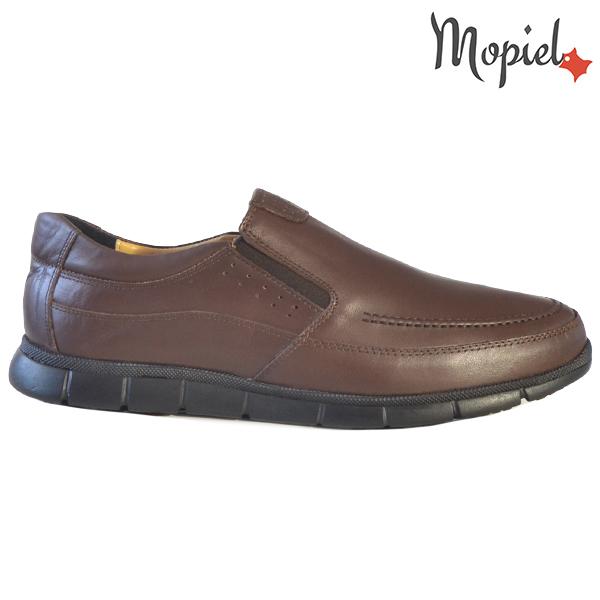 Pantofi barbati, din piele naturala 131107 Maro Antim