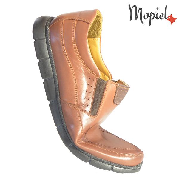 Pantofi barbati, din piele naturala 131107 Maro-Roscat Antim incaltaminte barbati din piele