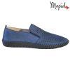 Pantofi barbati, din piele naturala 131108 Blue Alden