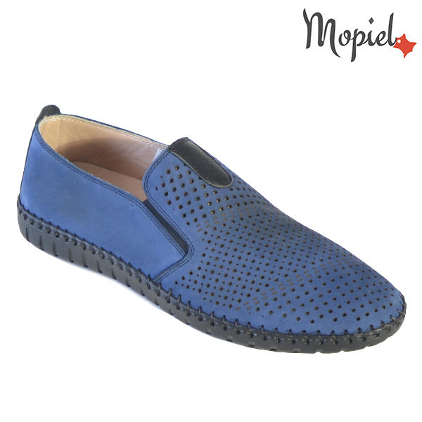 Pantofi barbati, din piele naturala 131108 Blue Alden incaltaminte barbati