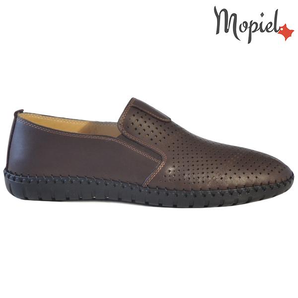 Pantofi barbati, din piele naturala 131108 Maro Alden