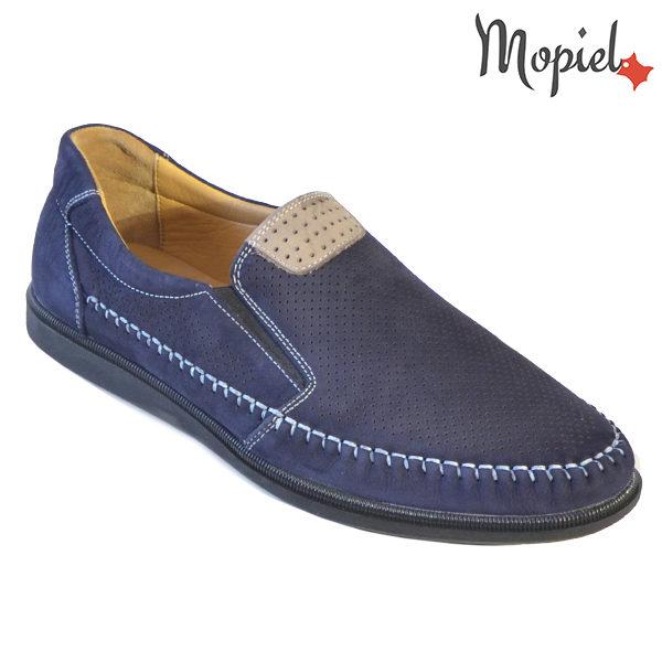 Pantofi barbati, din piele naturala 131110 Bleumarin Eduard incaltaminte barbati