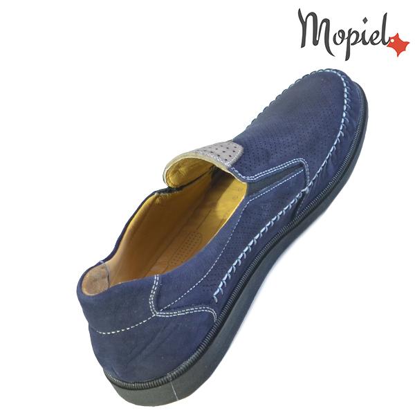 Pantofi barbati, din piele naturala 131110 Bleumarin Eduard incaltaminte piele