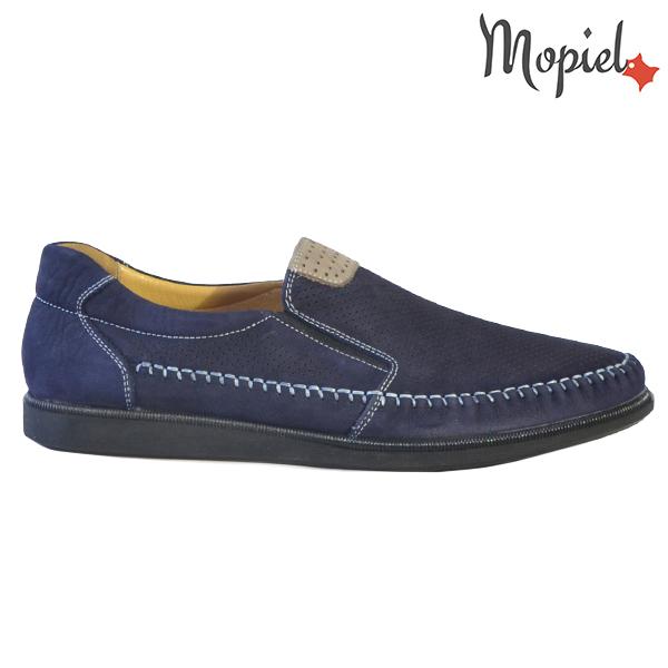 Pantofi barbati, din piele naturala 131110 Bleumarin Eduard