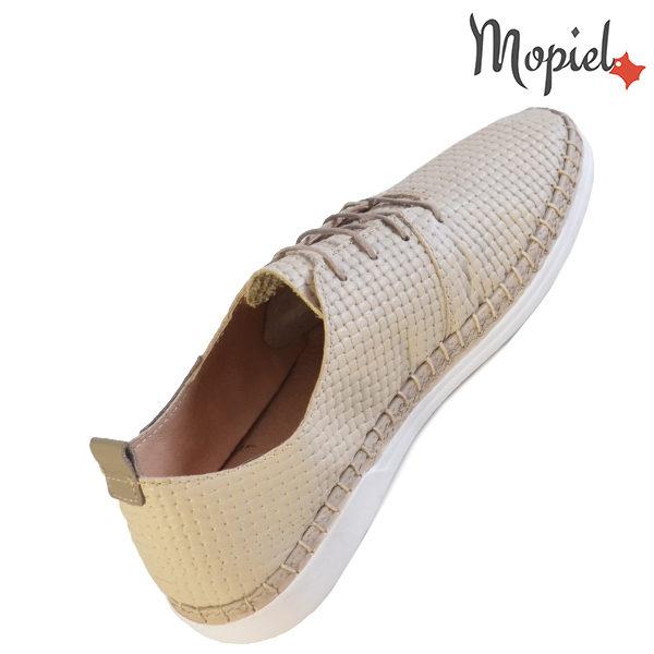 Pantofi dama din piele naturala 23811 Bej Cindya incaltaminte piele