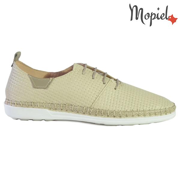 Pantofi dama din piele naturala 23811 Bej Cindya  - Pantofi dama din piele naturala 23811 Bej Cindya - Reduceri de mărţişor la sute de produse si transport gratuit! ❤️❤️❤️