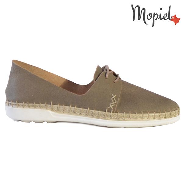 Pantofi dama din piele naturala 23811 Gri-Topolino Cindya  - Pantofi dama din piele naturala 23811 Gri Topolino Cindya - Reduceri de mărţişor la sute de produse si transport gratuit! ❤️❤️❤️