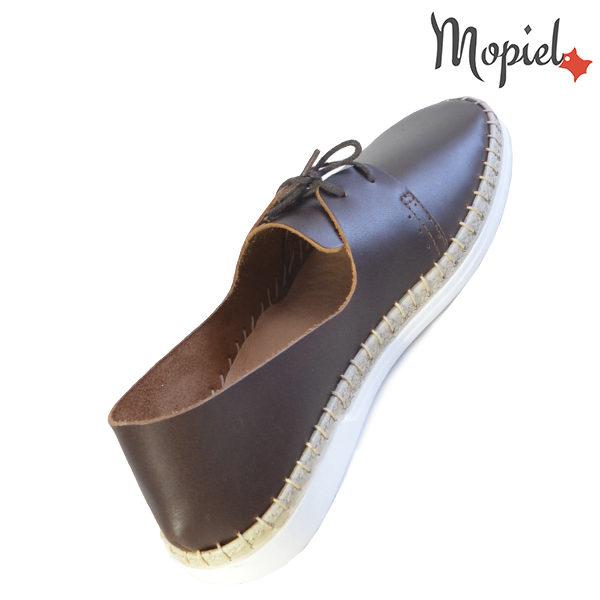 Pantofi dama din piele naturala 23811 Maro Cindya incaltaminte dama incaltaminte ieftina