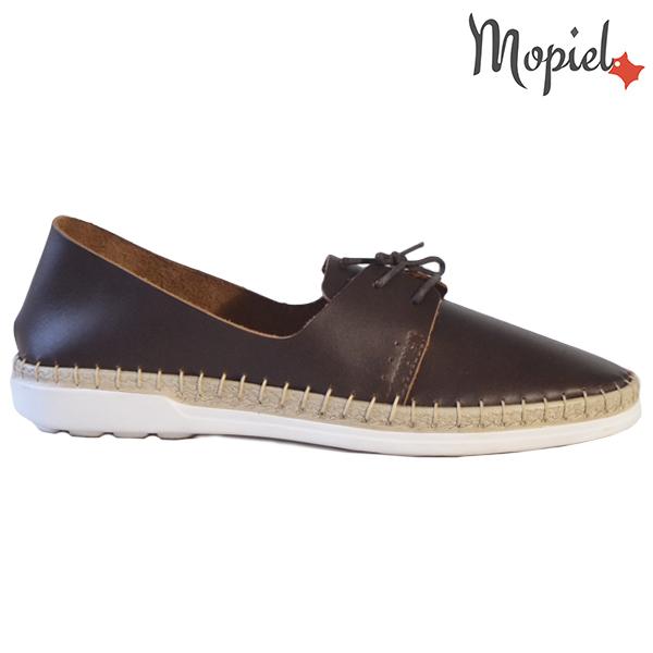 Pantofi dama din piele naturala 23811 Maro Cindya  - Pantofi dama din piele naturala 23811 Maro Cindya - Reduceri de mărţişor la sute de produse si transport gratuit! ❤️❤️❤️