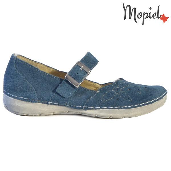 Sandale dama din piele naturala 23510 Blue Carla