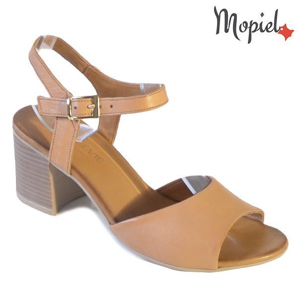 Sandale dama din piele naturala 251111 Maro Patricia incaltaminte dama