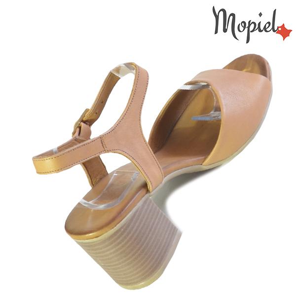 Sandale dama din piele naturala 251111 Maro Patricia incaltaminte fashion