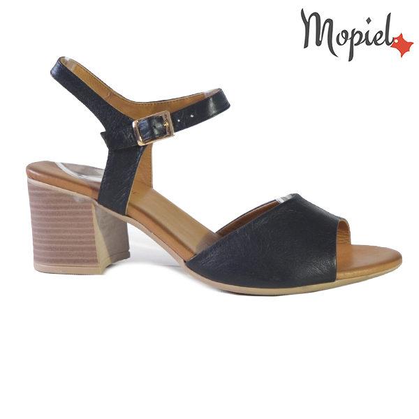 Sandale dama din piele naturala 251111 Negru Patricia