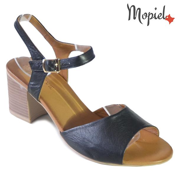 Sandale dama din piele naturala 251111 Negru Patricia incaltaminte dama