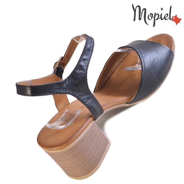 Sandale dama din piele naturala 251111 Negru Patricia incaltaminte online