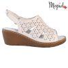 Sandale dama din piele naturala 251118 Alb Dalia