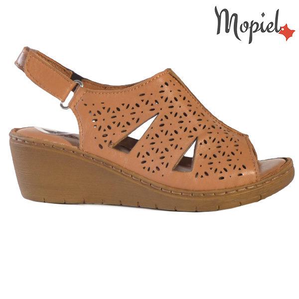 Sandale dama din piele naturala 251118 Maro Dalia incaltaminte dama