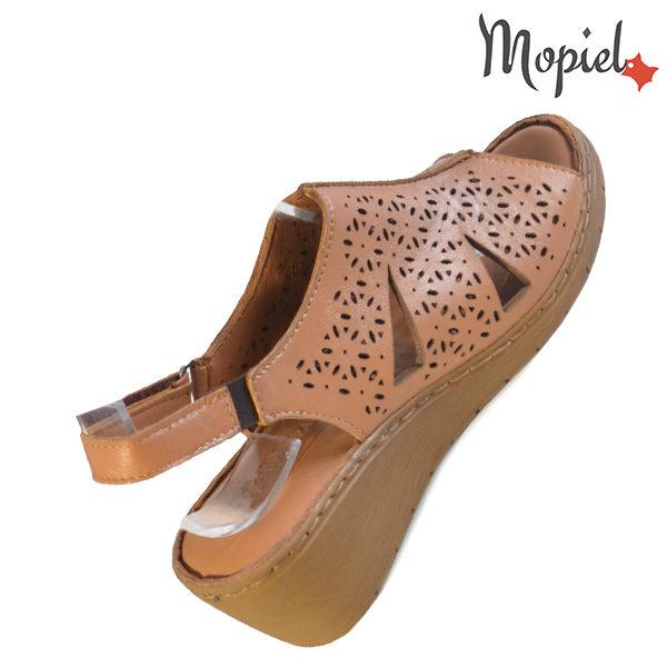 Sandale dama din piele naturala 251118 Maro Dalia reduceri incaltaminte
