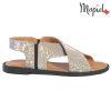Sandale dama din piele naturala 251119 Argintiu Sanda  - Sandale dama din piele naturala 251119 Argintiu Sanda 100x100 - Papuci dama, din piele naturala 261105/Alb/Otilia