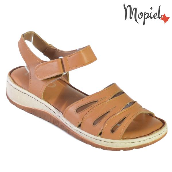 Sandale dama din piele naturala 251120 Maro Tania incaltaminte dama