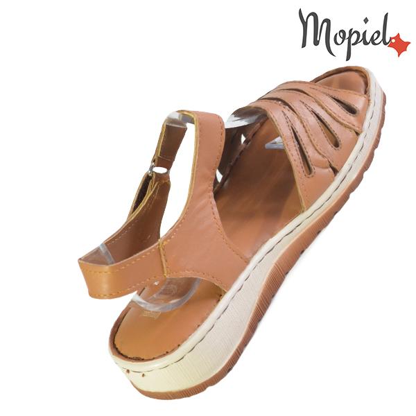 Sandale dama din piele naturala 251120 Maro Tania incaltaminte piele